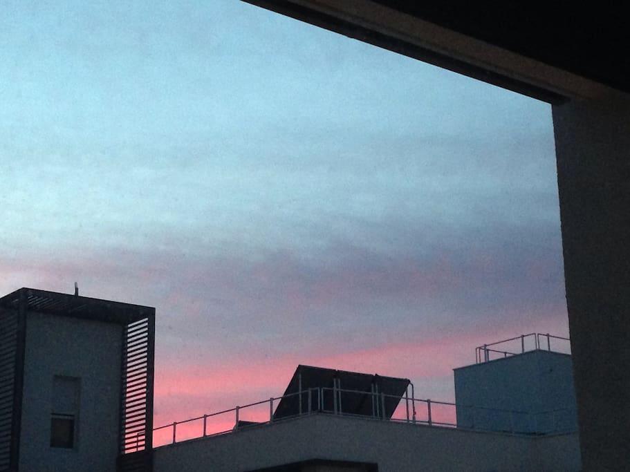 Balcon et vue dégagée