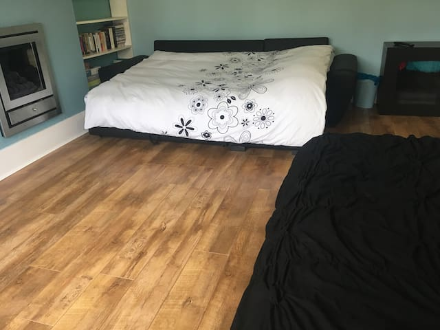 Duck Egg Spacious guest room