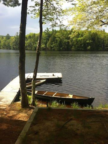 Quiet Maine Cabin Getaway - Lebanon - Rumah