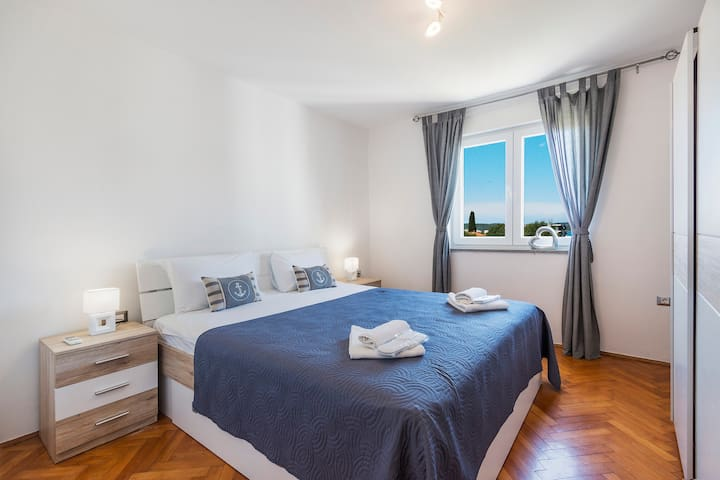 Apartment 600m from the ocean beach, free parking