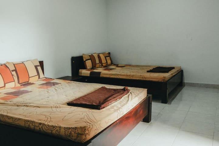 Minimalist Room for Family at Hotel Diana 2