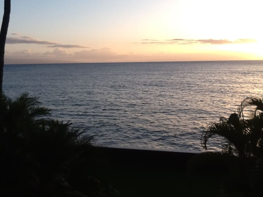 Amazing sunsets from the lanai