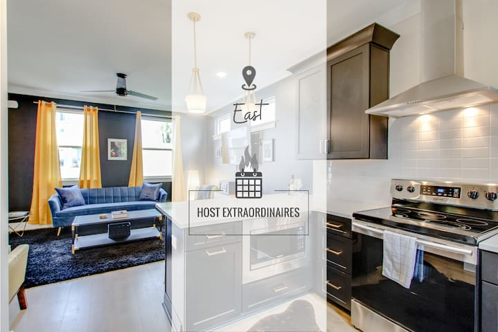 STUNNING TOWNHOME ★ EAST NASH ★ MINS TO DOWNTOWN