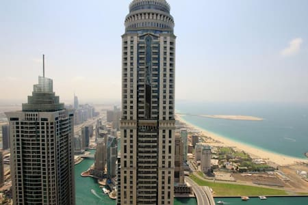Large Master Bedroom Sea View Dubai