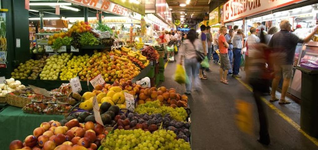 Our famous Adelaide Central Market is great on Friday night or Saturday
