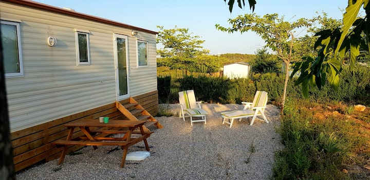 Tranquil Bungalow 119 on 3 Star Camping