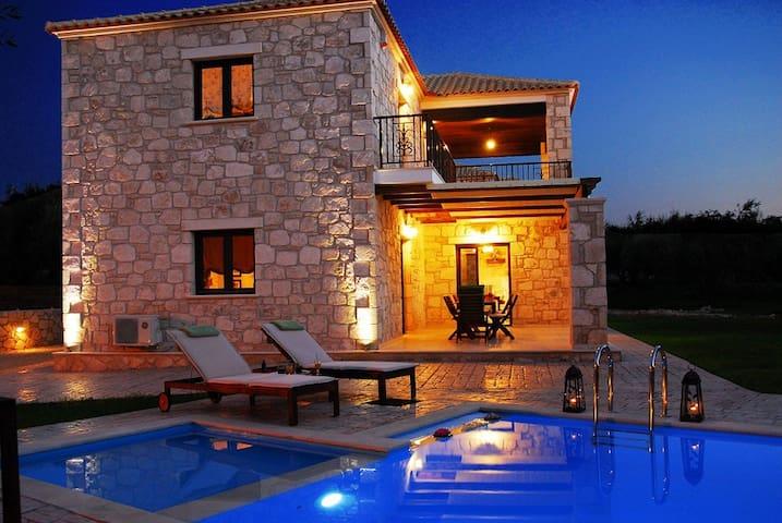 Adamas Luxury Stone Villas Villa I - Παντοκρατωρας