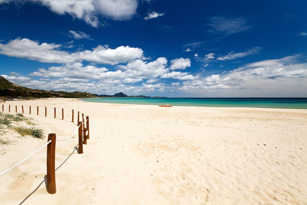Costa Rei's sand!