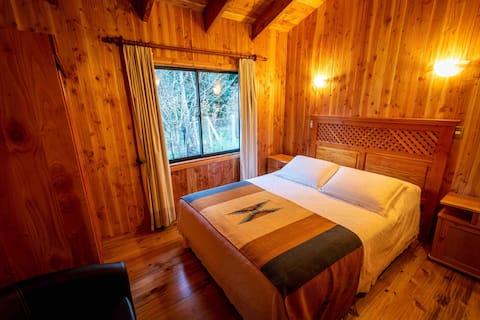 Cabaña 5 pax - Huilo Huilo Turismo Cruz del Sur