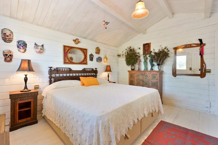 cozy hippy chic  house