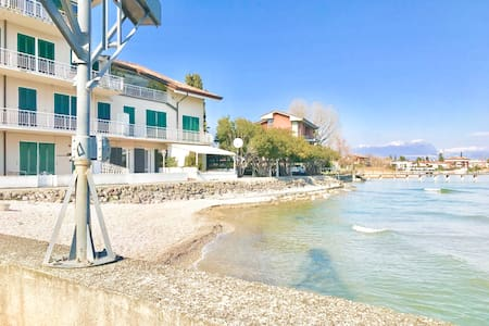 Sirmione Stella on the Lake with Private Beach