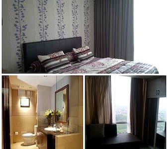 Daily Rent Apartment near Airport - South Tangerang - Wohnung