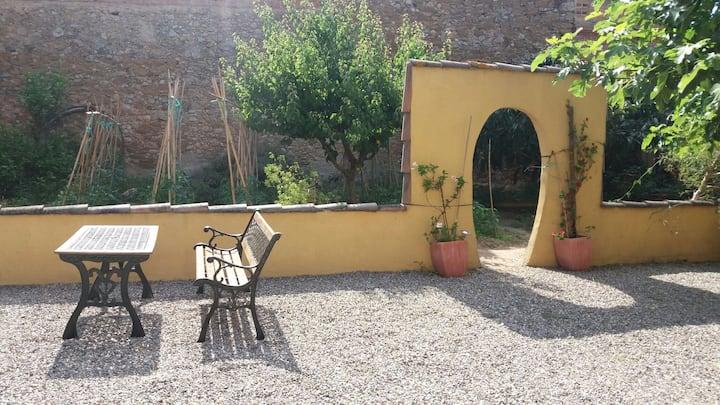 Casa amb jardí a 4km de las platges