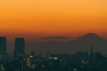 Mt Fuji view - mySuites@Tokyo #1204 - 東京