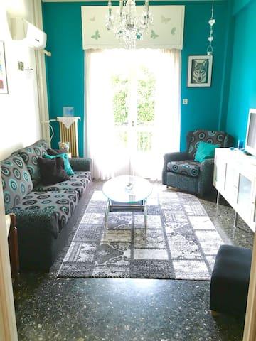 Modern Spacious Apt In Athens - Dasos Haidariou - Apartament