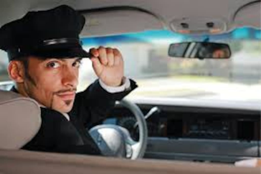 You will have your peronal chauffeur to drive you anywhere you like, any time you want