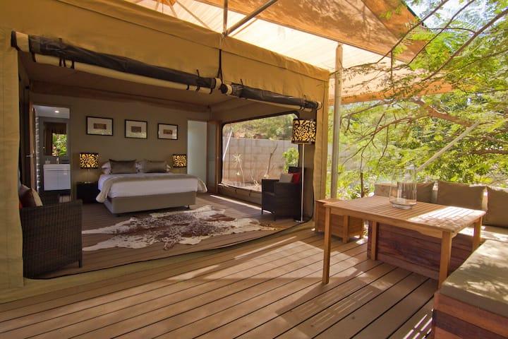 Luxury Safari Queen Tent at The Billi (Broome)