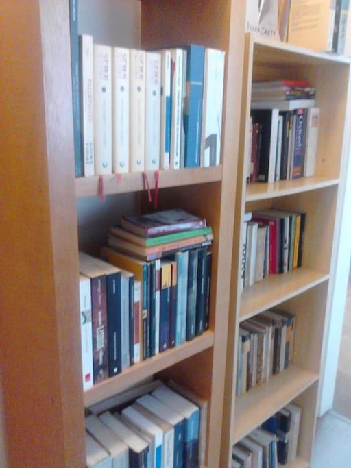 acesso aos livros da casa