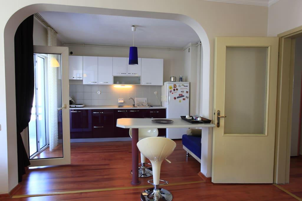 200 -1 Room  Apartment near airport