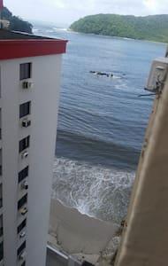 Apartamento Inteiro Em São Vicente  - Pé Na Areia