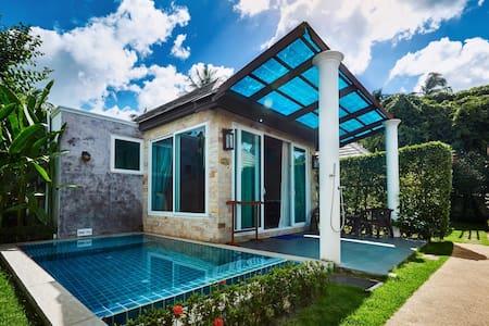 1BR Seaview Pool villa steps from Beach (SV) - Koh Samui