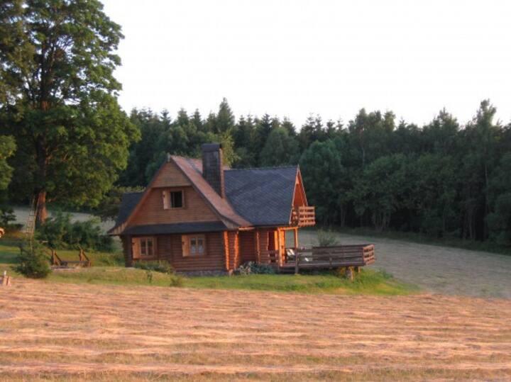 Chata z bali drewnianych (Chata 4x4)