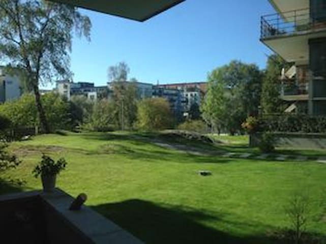 Spacious pearl with beautiful view - Stockholm - Leilighet