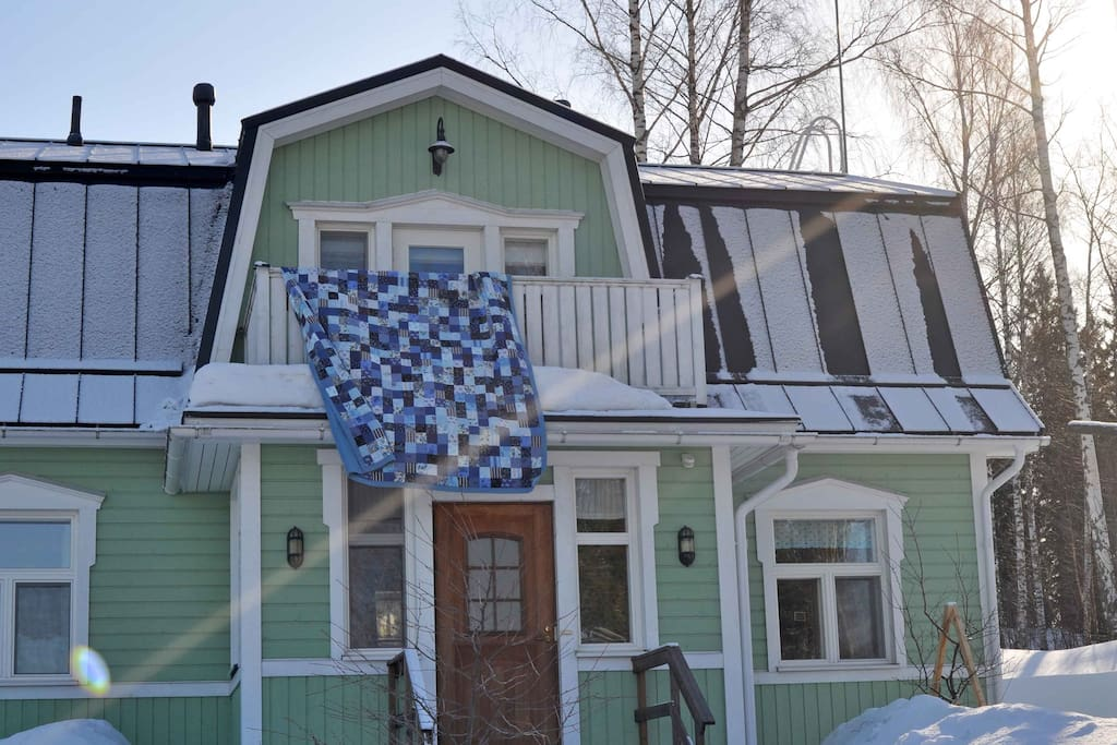 Our house - Winter Wonderland.