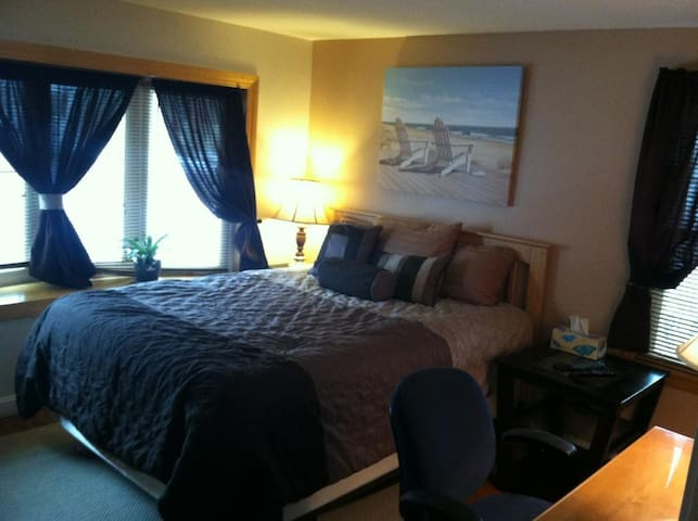 Luxury Bedroom minutes from downtwn - Syracuse - Dom