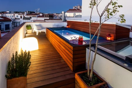2 Story House - Pool & Terraces - Sitges - Apartamento
