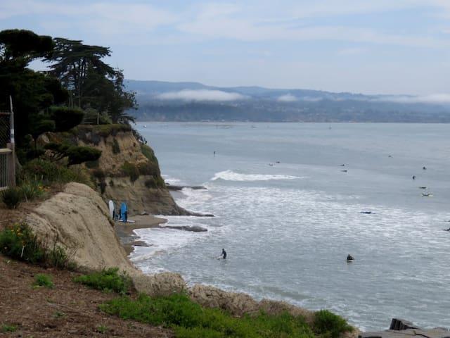 Pleasure Point, walk 2 Surfing, Portola Paradise