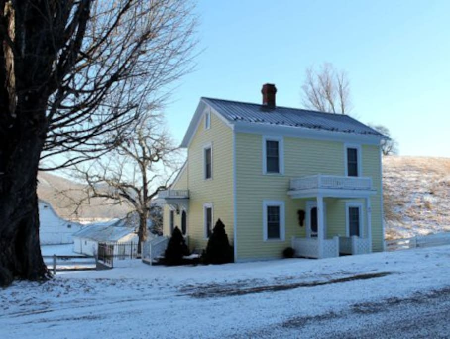 Yeager House in Winter