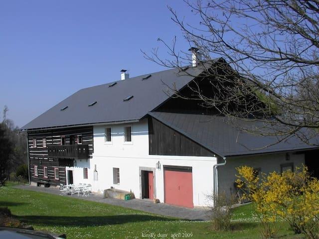 former kinsky house  Room #3 (of 3) - Sloup v Čechách