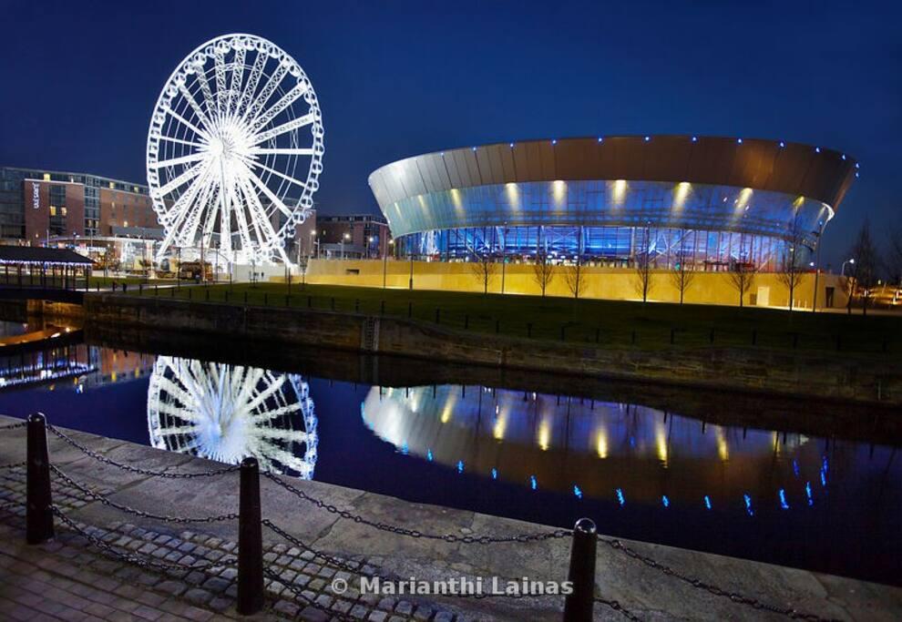 Echo Area and Liverpool Eye