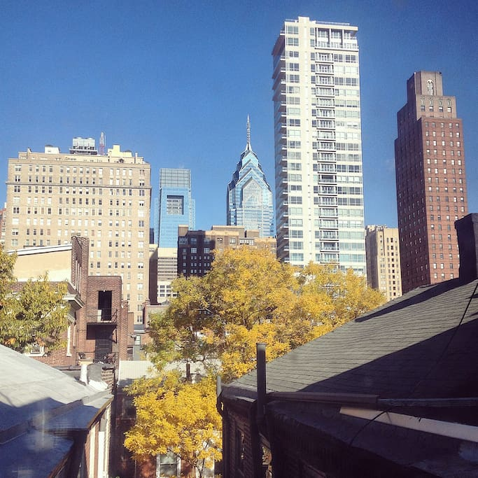 View from Dining Room of Center City