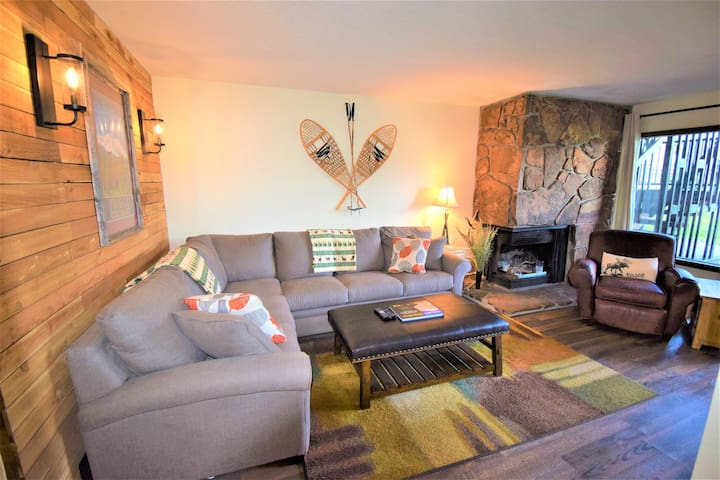 Mountain Meadows 103 Mtn Chic condo with Lake & Mtn views: walk to Lake Dillon, bike path, Historic Town of Frisco and more