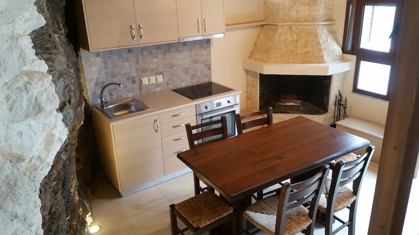 Renovated cosy village house.