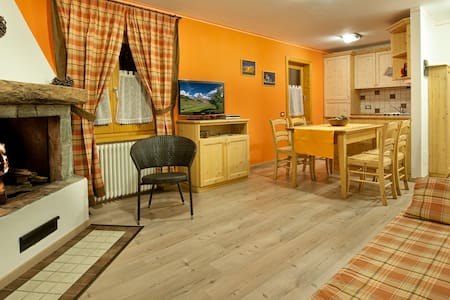 Orange - 4 guests - Livigno