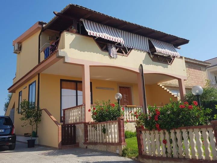 Casa Villa Sabbiadoro con splendida vista sul mare