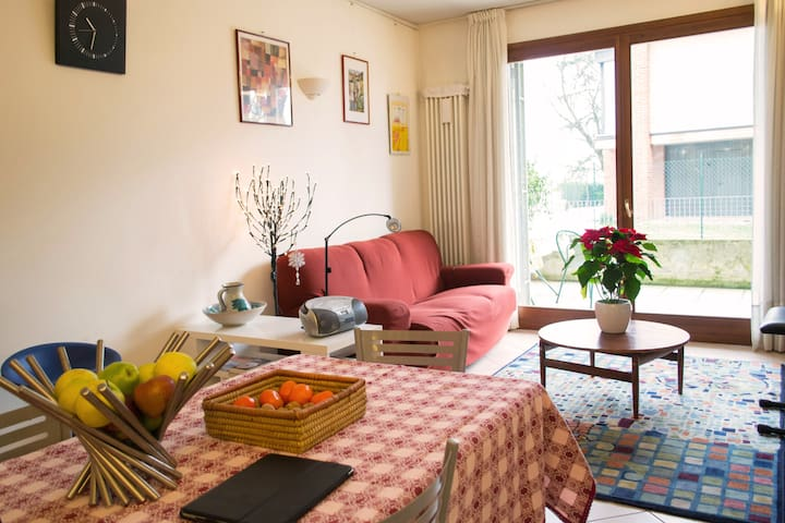 Very nice apt big terrace near city - Monticello Conte Otto - Apartment