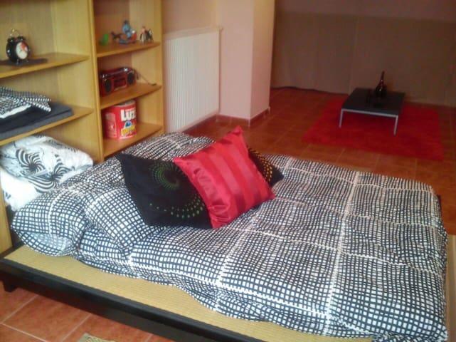 se alquila habitacion con salon - alcala de henares - House