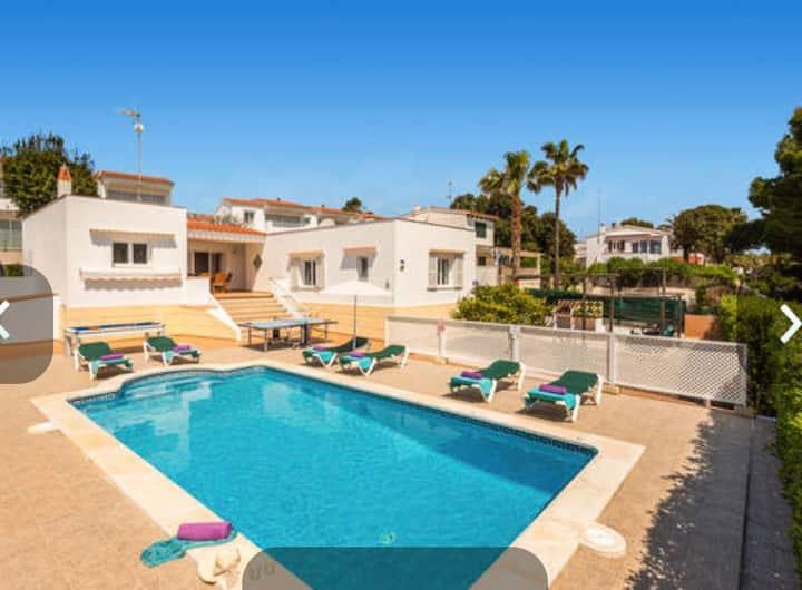 Villa Ideal para disfrutar de Menorca