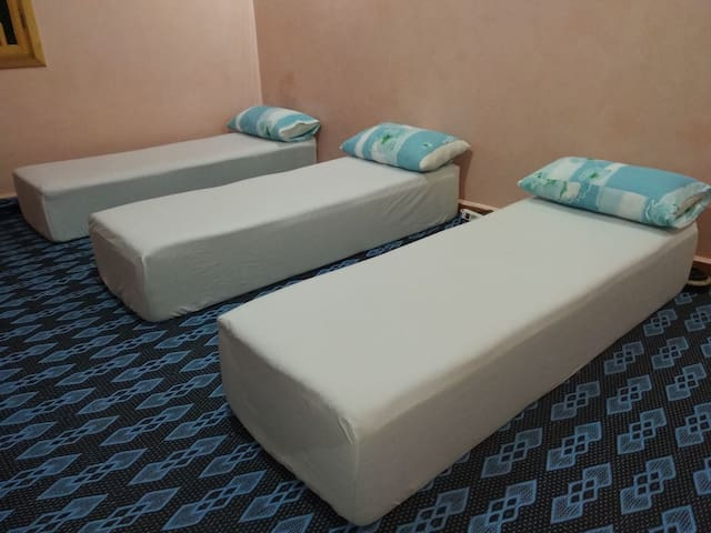 DORMITORY IN THE HEART OF RABAT 2 (free parking )