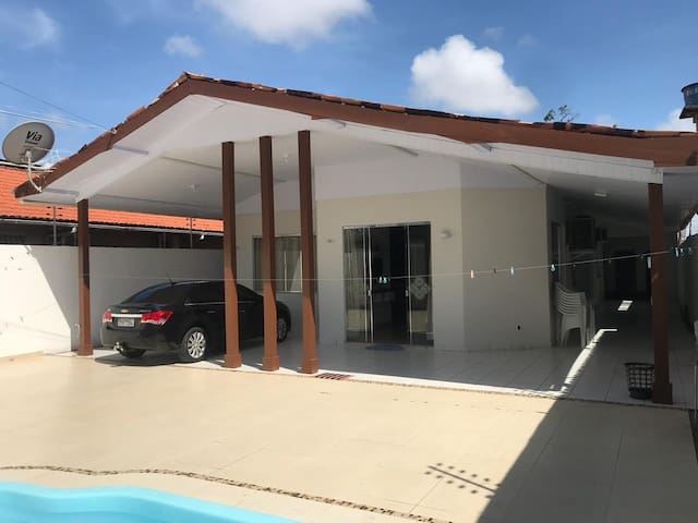 Casa alto padrão mobiliada