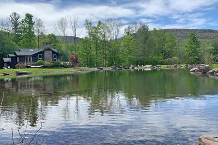 Stunning Lake House nr Phoenicia, Mntn Views, Swim