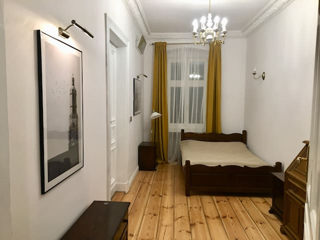 Stylish room in historical center of Wroclaw