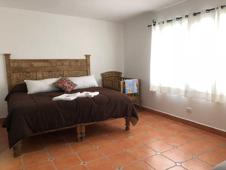 Apartment No. 3, near the Sanctuary of Atotonilco.