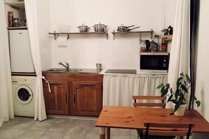 Superbe studio très fonctionnel, Nîmes centre
