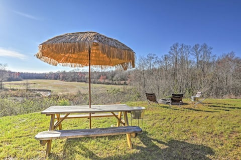 Murray Cabin w/ Fire Pit - River & Valley Views!
