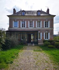 Maison de Maître prés des plages de Normandie